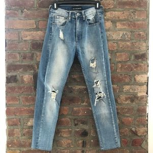 Urban Outfitters distressed skinny jeans